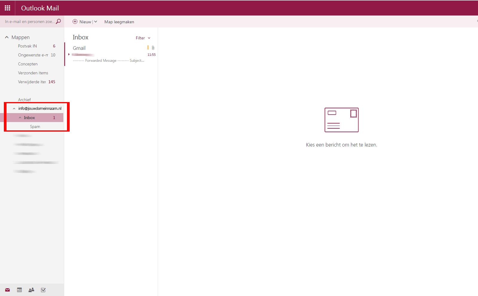 Outlook / Hotmail instellen