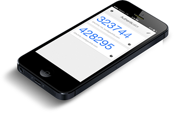 Genereer logincodes voor uw server met uw smartphone